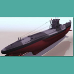 Click to see information about the 'U Boat Type VII B (for 3D Studio Max)'.