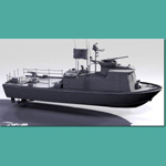 U.S. Navy Swift Patrol Boat (for 3D Studio Max)