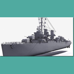 USS Fletcher (for 3D Studio Max)