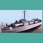German E Boat (for 3D Studio Max)