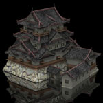 Click to see information about the 'Hikone Castle (for Lightwave)'.