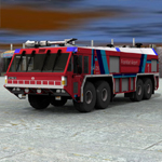 GFLF Simba 8X8 Firefight Truck (for Poser)