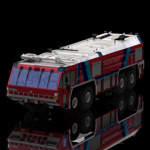 Click to see information about the 'GFLF Simba 8X8 Firefight Truck (for Poser)'.