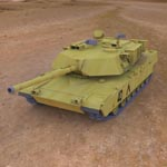 Click to see information about the 'M1A1 Abrams (for 3D Studio Max)'.