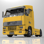 Volvo Truck (for 3D Studio Max)