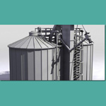 Twin Silo (for 3D Studio Max)