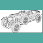 Bentley 1930 (for 3D Studio Max)