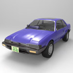 Honda Prelude XX (for 3D Studio Max)