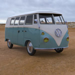 Click to see information about the 'Volkswagen Combi (for 3D Studio Max)'.