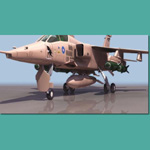 Click to see information about the 'BA Jaguar GR1 (for 3D Studio Max)'.