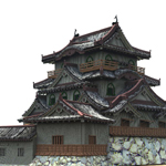 Click to see information about the 'Hikone Castle (for Vue)'.