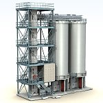 Click to see information about the 'Fuel Plant (for Poser)'.