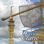 Click to see information about the 'Tower Crane (for Poser)'.