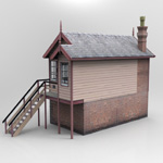 GWR Signalbox (for Poser)