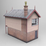 GWR Signal Box (for Wavefront OBJ)
