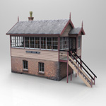 Click to see information about the 'GWR Signalbox (for Poser)'.