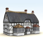 Click to see information about the 'Thatched Pub - Low Polygon (for Vue)'.