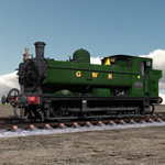 GWR Tank Engine (for Poser)