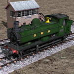 Click to see information about the 'GWR Tank Engine (for Poser)'.