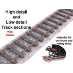 Click to see information about the 'Rail with Ballast (for Poser)'.