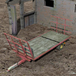 Click to see information about the 'Hay Trailer (for Poser)'.