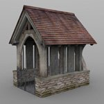Lychgate (for Wavefront OBJ)