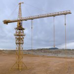 Click to see information about the 'Tower Crane (for Wavefront OBJ)'.