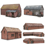 Click to see information about the 'Home Farm Collection 01 (for Poser)'.
