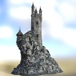 Wizard`s Tower (for DAZ Studio)