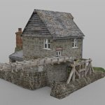 Blossom Hill Mill (for DAZ Studio)