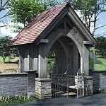 Click to see information about the 'Lychgate (for Poser)'.