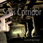 SciFi Corridor (for Poser)