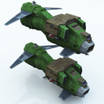 DE WASP Dropship (for Vue)