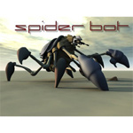 SpiderBot (for Poser)