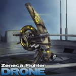 Zeneca Fighter Drone (for Poser)