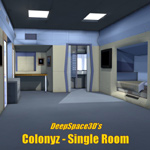 Colonyz Single Room (for Poser)