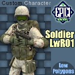 SoldierLWR_01 (for Poser)