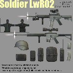 SoldierLWR_02 (for Poser)