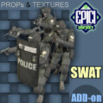 Click to see information about the 'SWAT Soldier Add-On (for Poser)'.