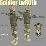 SoldierLWR_01b SAS (for Poser)