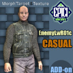Click to see information about the 'EnemyLWR_01c (for Poser)'.