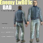 EnemyLWR_01c BAD Casual Add-On (for Poser)