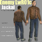 EnemyLWR_01c Jackal (for Poser)