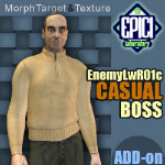 Click to see information about the 'EnemyLWR_01c BOSS Add-On (for Poser)'.