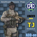 Click to see information about the 'Lince9 TJ (for Poser)'.