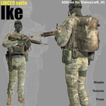 Lince9 Ike (for Poser)