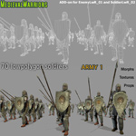 Medieval Warriors 1 (for Poser)