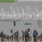 Medieval Warriors 2 (for Poser)