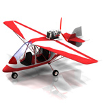 Click to see information about the 'Ultralight GT-500 (for Poser)'.