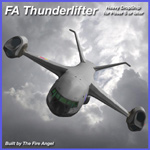 Click to see information about the 'FA Thunderlifter Heavy DropShip (for Poser)'.